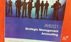 SELLING STRATEGIC MANAGEMENT ACCOUNTING TEXTBOOK FOR