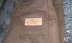 R M Williams jeans size 32L. Brand new. Purchased the