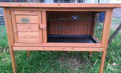 I have in door & out door hutches also all your rabbit