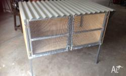 Rabbit hutch for sale 130 ono call ******7660 + click