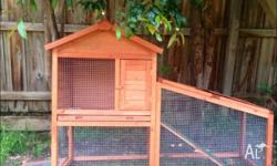hi im selling my rabbit hutch in good condition need a