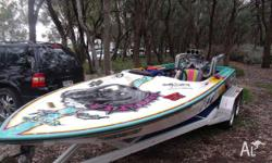 Adelaide Ski Boat Centre ski and race boat complete fit