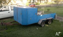 for sale race car trailer , used for midget and litre