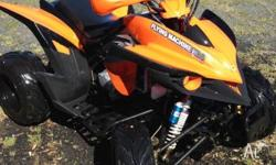 250cc Rapror Racing Quad . Near new condition, runs