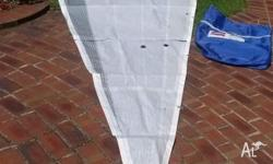 Suite of racing sails for Austral Clubman 8m Trailer