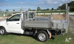 Racking system suit most single cab tray back utes and