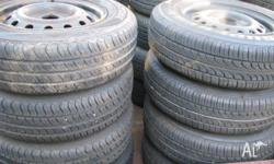 RADIAL TYRES LOTS OF TREAD Have the following: 4 x