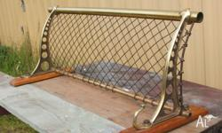 ORIGINAL LUGGAGE RACK FROM A VICTORIAN RAILWAYS COUNTRY