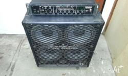 300 watt bass amplifier (RB-300) 800 watt 4x10 inch