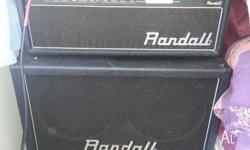Randall RX120D 120w head and RX412 cab In perfect