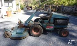 FOR SALE IS A RANSOMES RIDE-ON SLASHER/MOWER * Deck