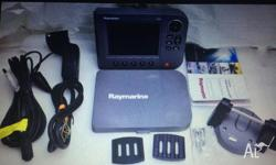 Raymarine A70D Chartplotter / Fishfinder Combo Unit In