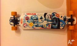 selling complete great longboard to use all round