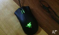 Good get up & go razer deathadder gaming mouse.has