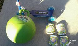 razor scooter ben 10 hopper ball toy story elbow and