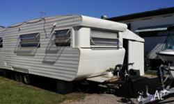 Caravan with annex ready for you to move into set up in