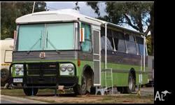 Year: 1979 Condition: Used Ansair 79 Bedford Bus. Dual