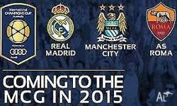 I have 4 gold tickets for Real Madrid vs Manchester