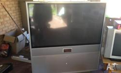 Lg rear projection tv great picture 56in $150 or