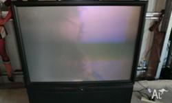 Pioneer rear projection tv with remote , have no