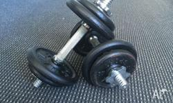 Rebel Dumbell in near new condition with original
