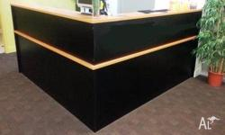 Reception counter 4100 mm x 4100 mm great condition and