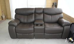 This item is partly new and used, brown full leather