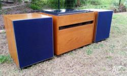 Beautiful PYE modular record player Model 503 from the