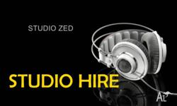 RECORDING STUDIO HIRE * ENGINEER THE SESSION YOURSELF .