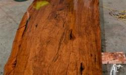 RED GUM SLABS Kiln Dried furniture grade. Use as