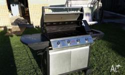 Redcentre Hooded BBQ, In very good order. Two door