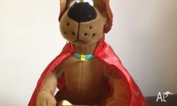 This is a beautiful magic wizard scooby doo bear. In