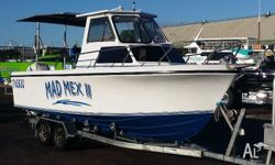 Custom Reef Boat 6.4m Fibreglass Walkaround Awesome
