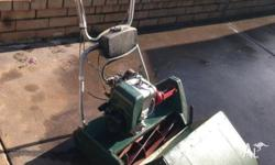 "Suffolk 18"" Cut Reel Mower in Good Condition - Well"