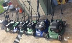 Refurbished excellent quality mowers (Sydney Roller