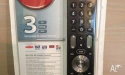 All in one Remote, Brand new in Packet. Has been opened