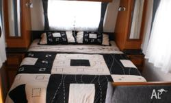 Luxurious fit out with sumptous lounge, queen bed, air