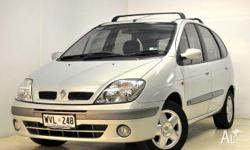 RENAULT,Scenic,MY03,2003, Front Wheel Drive, SILVER,
