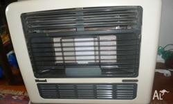 Great gas heater. Selling because I have new reversed