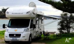 The motorhome / campervan I'm offering for rent is our