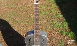 new. single cone metal body resonator guitar,queensland