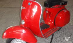 Beautifully restored and runs like a dream, this Vespa