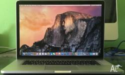 Retina Macbook Pro 15 Top Spec i7 3.7G 16G Ram 512G SSD