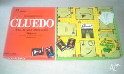 This retro 1972 Cluedo board by Murfett comes complete