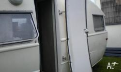 RETRO FIBREGLASS CARAVAN (KENNEDY BRAND MADE BY