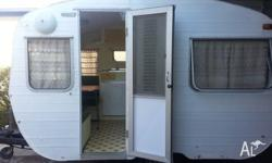 Very Cute little Franklin Retro � Classic Caravan ,