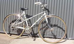 Old retro Sprite Mixte style ladies cruiser bike, made
