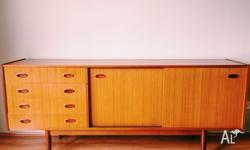 Retro wooden sideboard. Great condition with a few wear