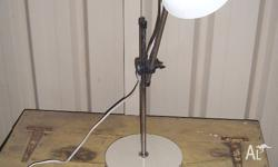 Retro industrial desk or table lamp. In good working