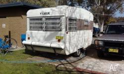 I have for sale my 16 ft York caravan. It is in good